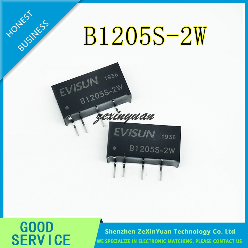 5PCS/LOT B1205S-2W DC-DC Power Module 12V-5V Isolated Buck B1205S-2W