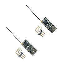 2Pcs FS2A 4CH Afhds 2A Mini Compatibele Ontvanger Pwm Uitgang Voor Flysky I6 I6X I6S Zender