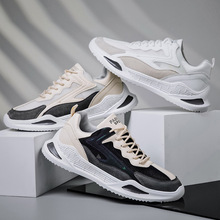 2020 Summer New Men's Shoes Fashion All-match Korean-Style Net Red Breathable Outdoor Sports Men's Running Shoes 2020 summer korean fashion net cloth little bear shoes women s sports shoes all match student sports dad s shoes