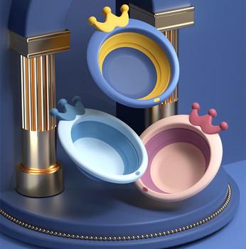 Umywalki dla dzieci PP plastik zagęszczony do kąpieli dla niemowlaka Butt umywalki składane nie składane umywalki lekkie umywalki tanie i dobre opinie CN (pochodzenie) Z tworzywa sztucznego W wieku 0-6m 7-12m 13-24m 25-36m 4-6y 7-12y 12 + y W stylu rysunkowym Babies Do wanny