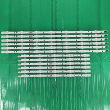 100% New 12pcs/Kit LED strips for SAMSUNG 50 TV UN50J6300 UN50J5500 UE50H6200 CY GH050CSNV1H BN96 30425 30426A D4GE 500DCA R2