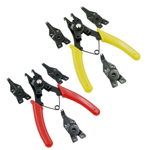 4 IN 1 Set Multifunctional Pliers Snap Ring Pliers Multi Crimper Cable Cutter Wire Stripping Hand Multitools Ring Crimping Plier