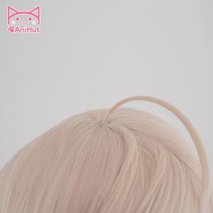 Image 4 - [Anihut】okita Souji Wig Fate Grand Order Cosplay Wig короткие синтетические женские волосы аниме Fate Grand Order Cosplay Wigs Okita Souji