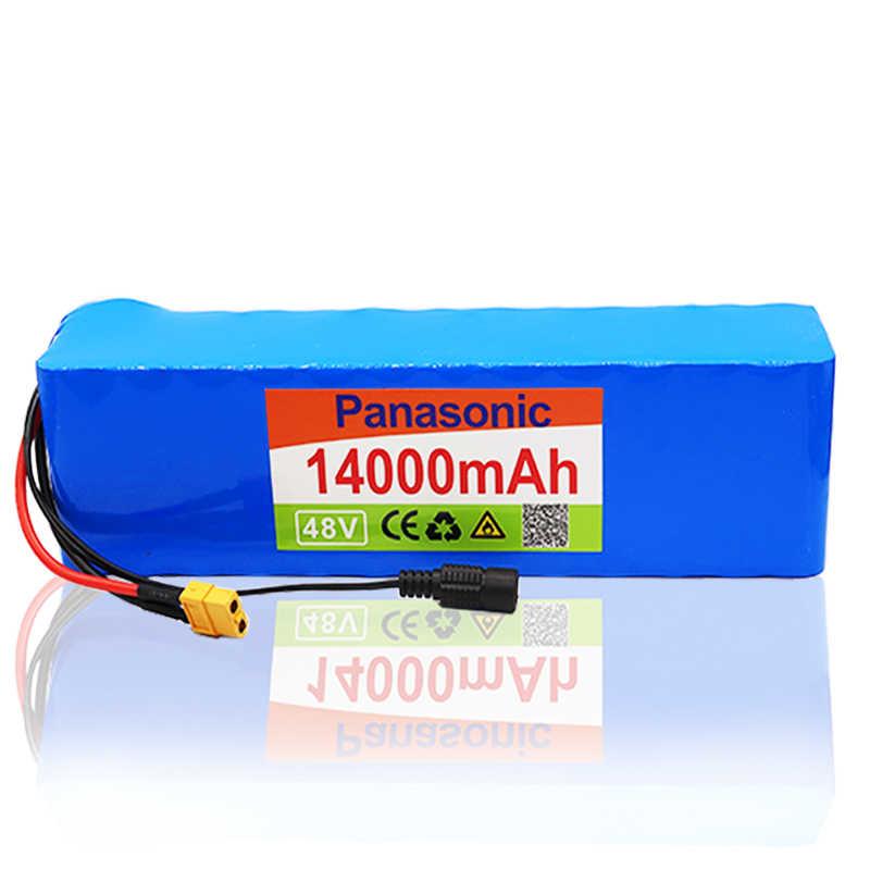 48V 14Ah 1000watt 13S3P batería de iones de litio para MH1 54,6 v e-bike batería eléctrica de bicicleta Scooter con 25A descarga BMS