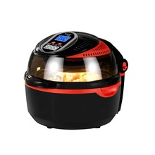 RA-002L 10L Oil-free Air Fryer 3D Household Electric Fryer Convection Oven Rotating Large Capacity Automatic Fried