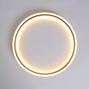 Image 5 - ネオ煌きゴールド/ブラック、完成した現代の led シーリングライトリビングルームホーム 110 v 220 220v の天井ランプ