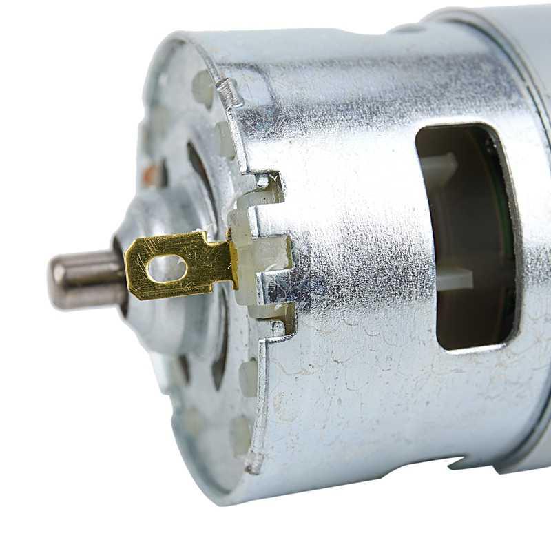 DC 12V 150W 13000 ~ 15000 RPM 775 ขนาดใหญ่ความเร็วสูงแรงบิดมอเตอร์ DC ไฟฟ้าเครื่องมือไฟฟ้าเครื่องจักร