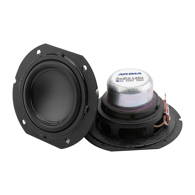 AIYIMA 2PC 2 Zoll Mini Vollständige Palette Lautsprecher Fahrer 4Ohm 20W Große Hub DIY Bluetooth Musik Lautsprecher Satellite sound Lautsprecher