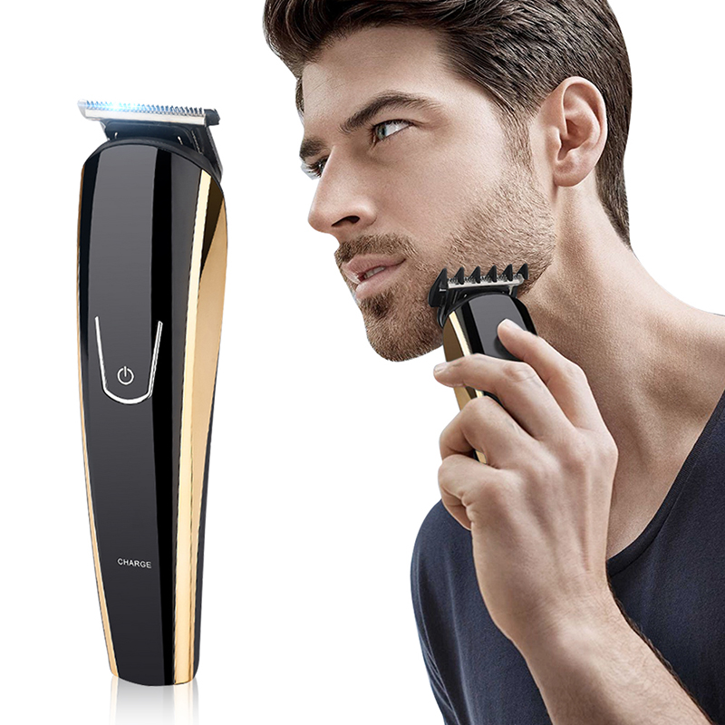Купить с кэшбэком 5 in 1 Multifunctional Beard Shaver Electric Hair Clippers Trimmer Beard Razor Rechargeable Mustache Shaver Styling Tools