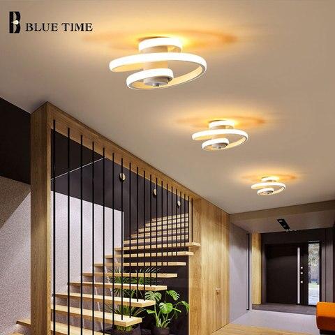 moderna luz teto led lustre quarto