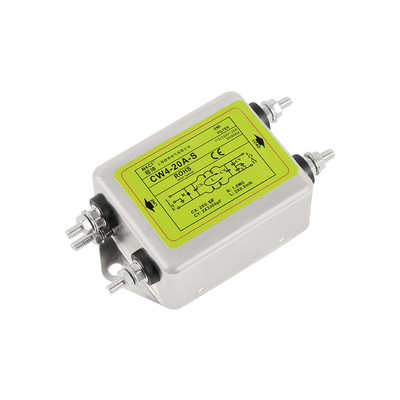 Single-phase AC 220V anti-interference CW1D-T1A 3A 6A 10A power supply filter