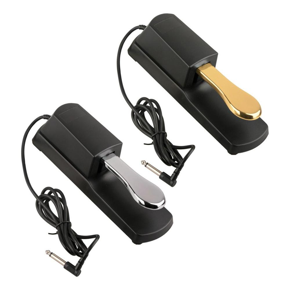 Damper Sustain Pedal Foot Switch Piano Keyboards Sustain Foot Pedal Damper Pedal For Electric Piano Keyboards