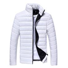 2019 Men Jacket Puffer Coat Jackets Basic Winter Warm