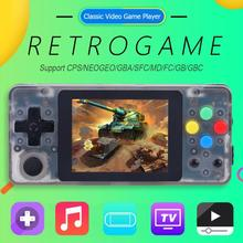 2.6 inch LCD Handheld Game Console 3000 Classic Games Retro Console with 32GB Game Card Portable Handheld Gaming Player AV Out coolboy x9 5 0 inch handheld game console white