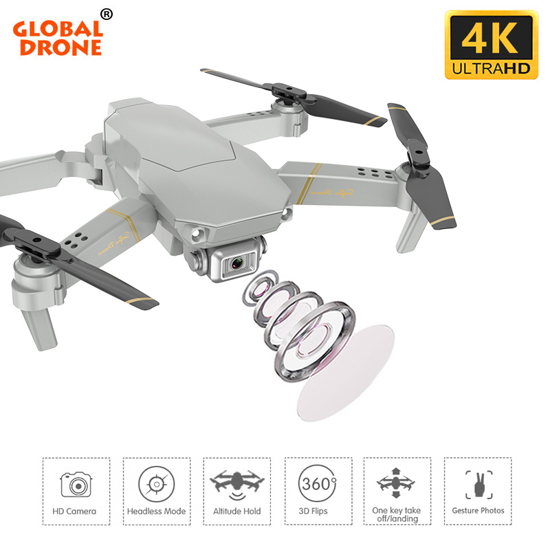 Global Drone Camera Professional Quadrocopter 4K With Long-Flight Time ANU HD