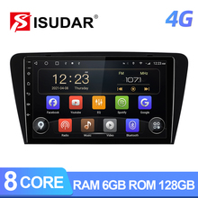 Autoradio ISUDAR T72 Android 10 per Skoda Octavia 2014 2015 2016 2017 GPS CANBUS Car Multimedia Player RAM 6GB 4G DSP No 2din