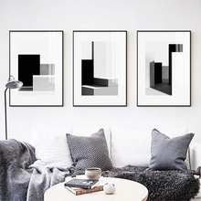 Abstract Poster Canvas Painting Print Living Room Bedroom Modern Black White Light Shadow Picture Wall Art Decoration Home Decor modern black swan and white swan canvas painting print poster picture home bedroom wall art painting decoration can be customize