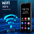 Wifi mp4 player 3.5 polegada tela sensível ao toque completo android mp3 bluetooth 5.0 mp5 baixar aplicativo de alta fidelidade loseless vídeo foto música players