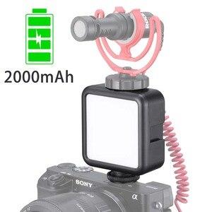 Image 4 - Ulanzi 울트라 밝은 49 LED 비디오 빛 3 핫슈 디 밍이 휴대용 높은 전원 패널 비디오 빛 캐논 니콘 스마트 폰