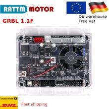 Nova atualização USB GRBL 1.1f placa placa controladora CNC 3 suporte de gravação a laser máquina de gravura do eixo Anti-jamming uso off-line