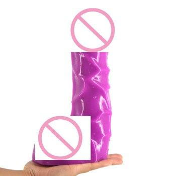 Große Saugnäpfe | Strapon Große Saugnapf Penis Realistische Dildo Vibrator Sex Spielzeug Für Erwachsene Frauen Phallus Starke Phalos Sex Spielzeug Für Paare