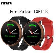 Силиконовый браслет fifata 20/22 мм для полярного воспламенения