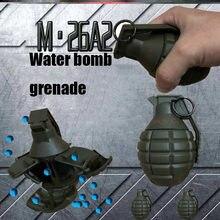 M26 a2 bomba de água brinquedo explosão reutilização bomba de água simulação brinquedo das crianças comer frango jogo ao ar livre cs equipamento material de náilon