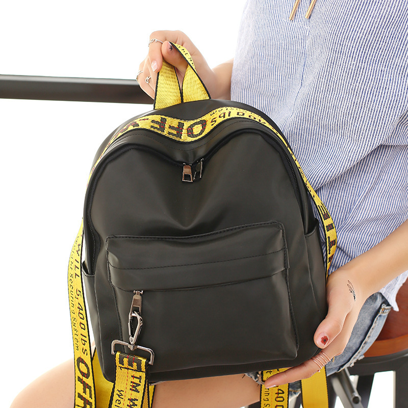 1PCS  Summer New Style Backpack, Color Belt, Bag, Young, Casual Backpack. Small Backpack