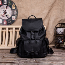 Q Shoulder Bag Male Korean Vogue Travel Waterproof Leather Simple Leisure Street Student