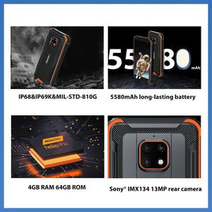 Image 2 - Blackview BV4900 Pro IP68 Rugged Phone 4GB 64GB Octa Core Android 10 Waterproof Mobile Phone 5580mAh NFC 5.7 inch 4G Cellphone