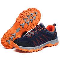 2019 Otoño Invierno Zapatos De alta calidad para hombres mujeres moda exterior pareja Casual zapatillas De Trekking Zapatos De Hombre Deportivo
