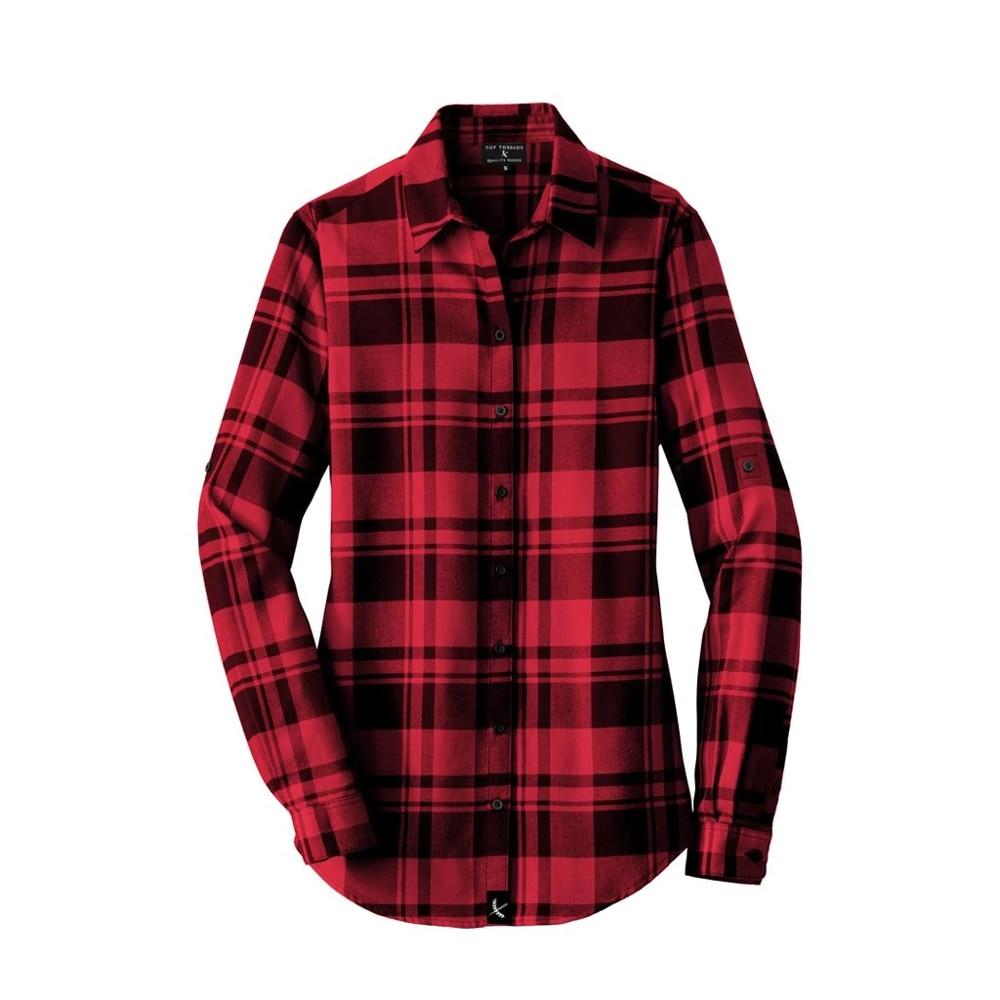 Женская фланелевая клетчатая рубашка хлопок весенне-осенняя Повседневная рубашка с длинными рукавами мягкая удобная приталенная стильная брендовая рубашка большого размера
