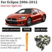 14x для 2006 2012 mitsubishi eclipse canbus без ошибок светильник
