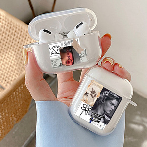 Image 2 - TPU Clear Cases For Apple Airpods 1/2 3 Great Art Aesthetic David Bluetooth Earphone Cover For Air Pods Pro Pod Case Box Bags