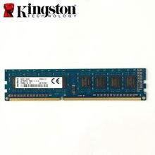 Usado Kingston 4G 4GB DDR3 PC3L 12800U DDR3 1600 MHZ Desktop memória RAM Desktop 4GB 1R/2Rx8 PC3L-12800U DDR3 1600 MHZ