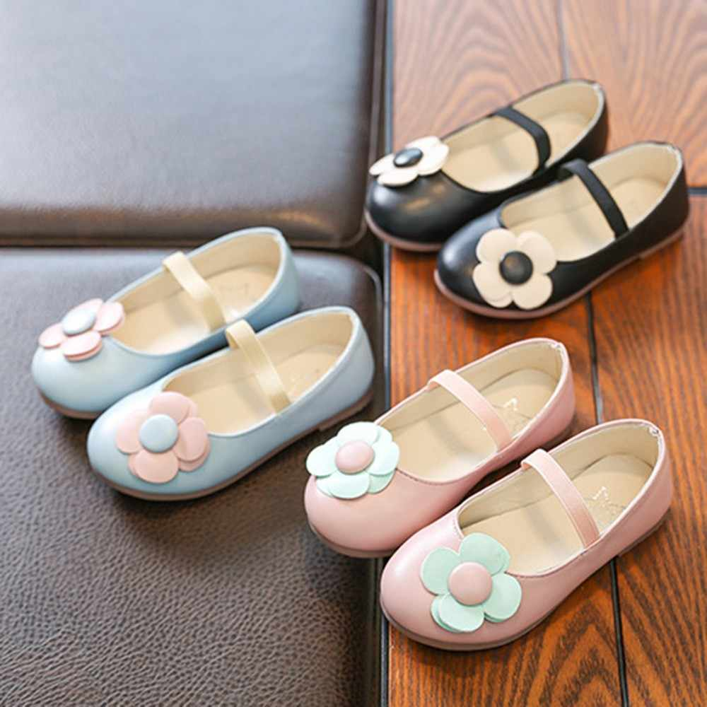 New Baby Leather Shoes Toddler Casual Children Gold Velour Anti-Slippery Flats Student Kids Single Shoes Princess Shoes Dropship