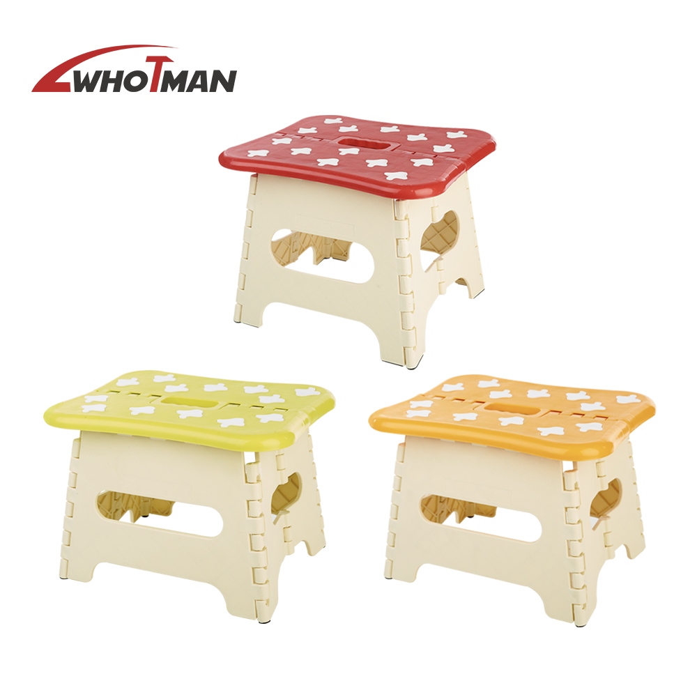 Folding Step Stool Mucti-Colorful Choose Plastic Portable Stools Seat For Kids Folding Stool Chair Camping Home Furniture