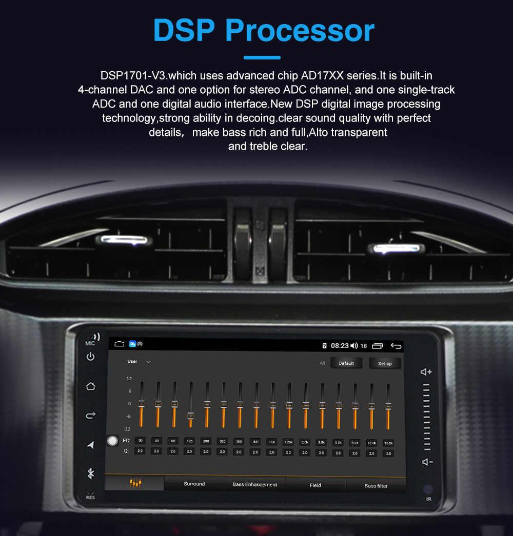 MEKEDE-Radio con GPS para coche, Radio con reproductor DVD, android 10,0, 4 + 64 GB, 2 Din, 9 pulgadas, Bluetooth, 2002 P