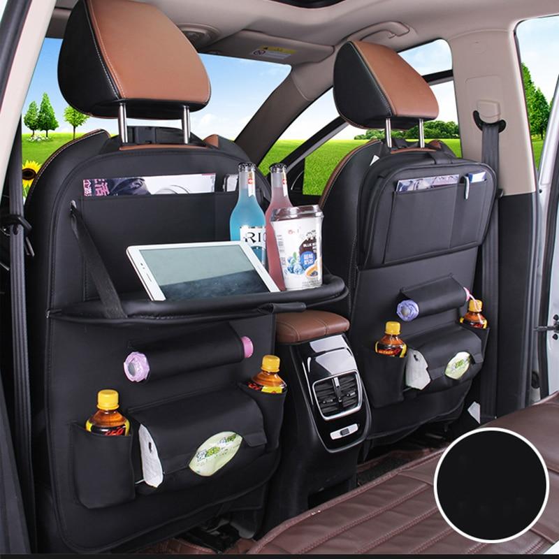 Dropshipping Kids Car Steat Covers Design Fashion Car Seat Storage Bag Multifunction Back Bag Child Seat Shopping Car Steat
