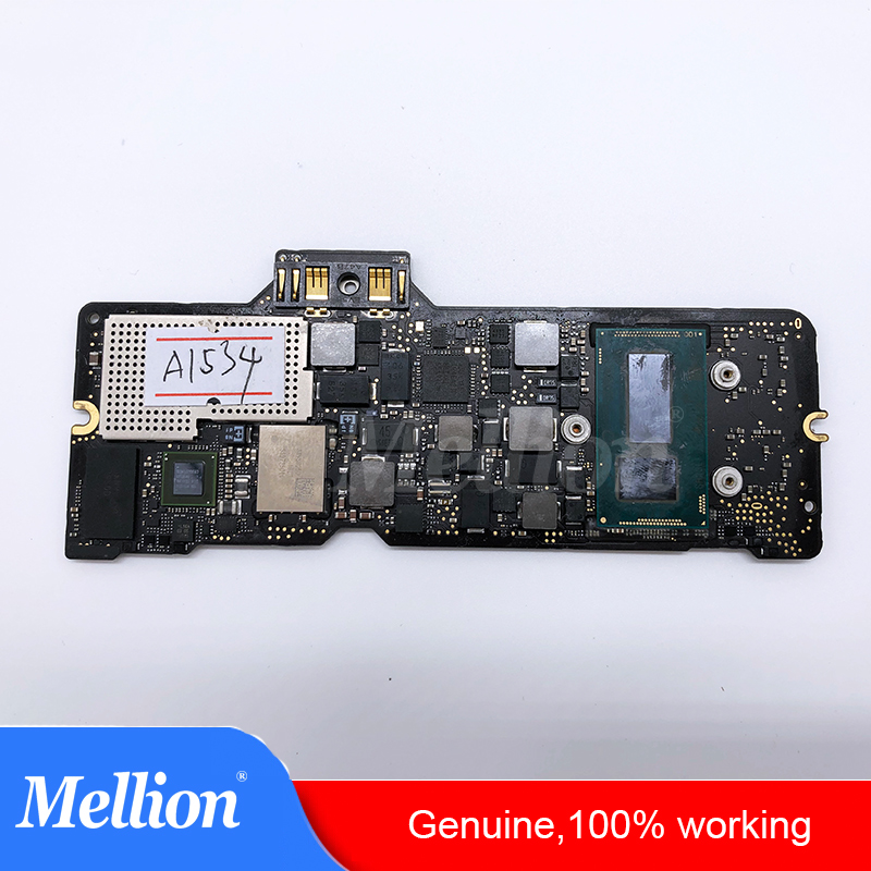 Genuine Laptop Mother board A1534 Logic board For MacBook 12' MF855 i5 8G 1.2GHz 1.3GHz Early 2015 2016 Year image