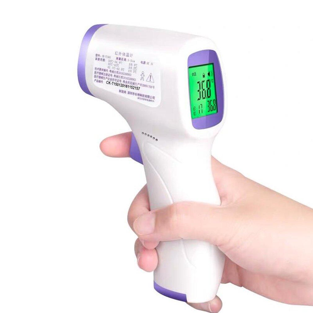 Infrared Temperature Gun Non Contact Gun Infrared Ir 0.1S Fast Sensor Measure Termometro Temperature Health Home Supply