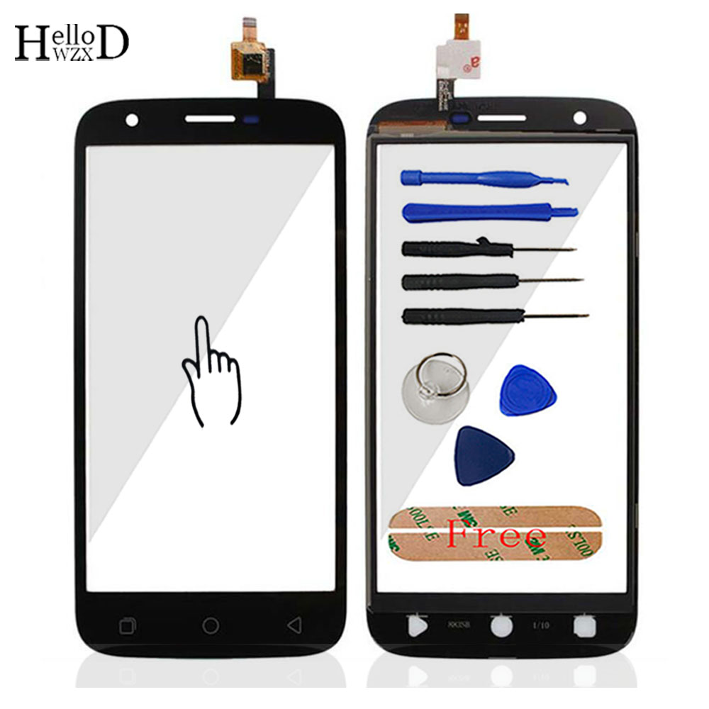 5.0'' Touch Sceeen For Ulefone U007 Touch Screen Glass Tested Front Glass Digitizer Panel Lens Sensor Tools + Adhesive Gift