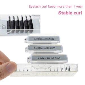 Image 3 - LAGEE extensiones de pestañas individuales, J B C CC D, rizado de visón falso, suaves, herramientas de maquillaje