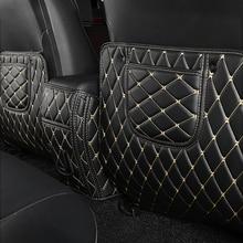 Rear Seat Anti Kick Pad For Toyota RAV4 2014 2015 2016 Rear Seats Cover Back Armrest Protection Mat For Toyota RAV4 2017 2018
