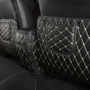 Image 1 - Rear Seat Anti Kick Pad For Toyota RAV4 2014 2015 2016 Rear Seats Cover Back Armrest Protection Mat For Toyota RAV4 2017 2018