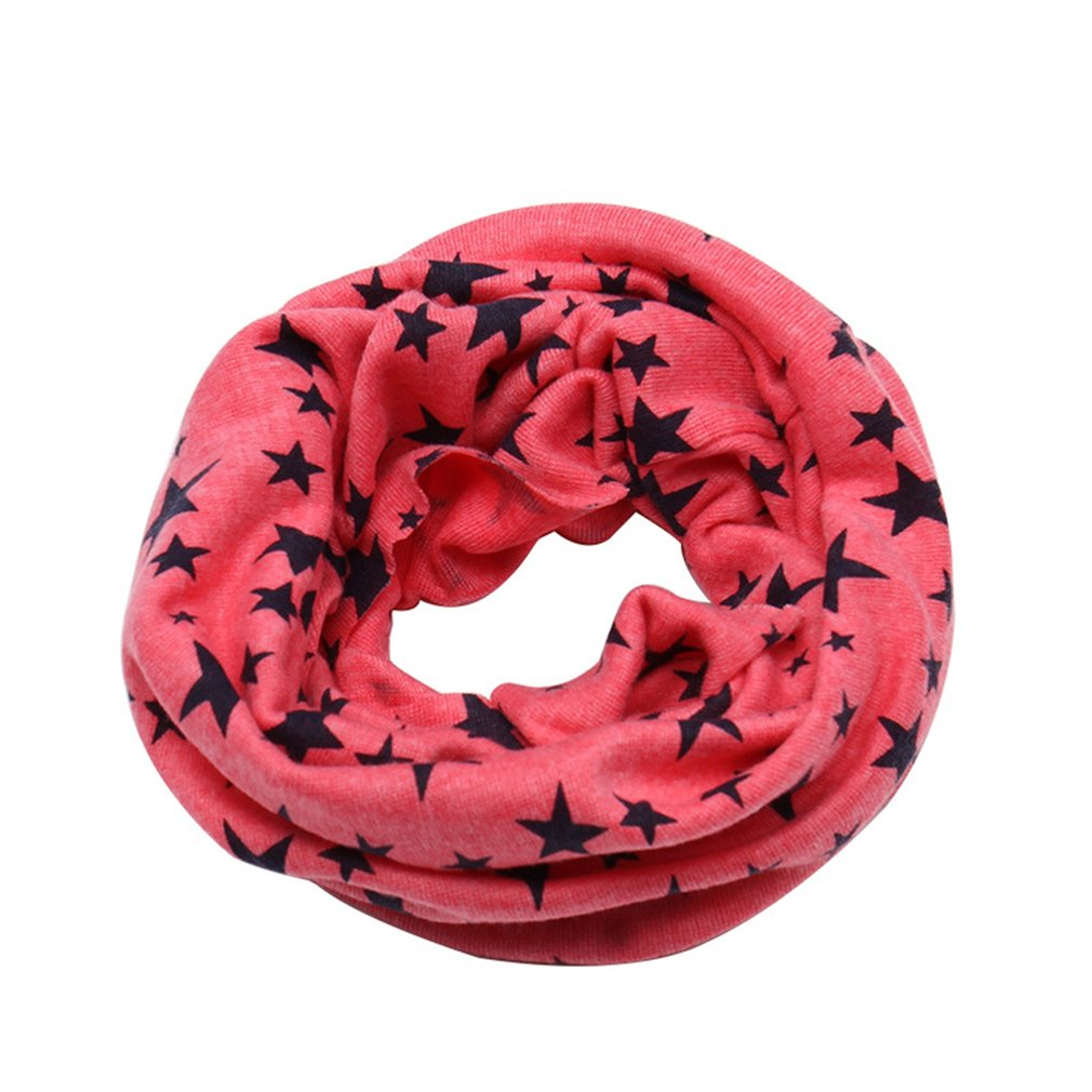 Autumn Winter Scarf 2019 Classic Children's Scarfs Boys Girls Baby Poncho Cotton O Ring Neck Scarves Foulard Children Poncho A30
