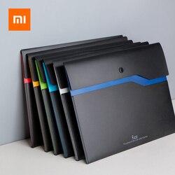 6 sztuk/zestaw Xiaomi Youpin Fizz zgłoszenia produktu A4 uchwyt na dokumenty organizator 2 warstwy aktówka walizka biznesowa biuro 1