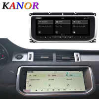 "KANOR 10,25 ""por la tierra Range Rover Evoque 2012-2016 panel Multimedia Navi GPS Bluetooth Android 9,0 RAM + ROM 4 + 64GB reproductor"