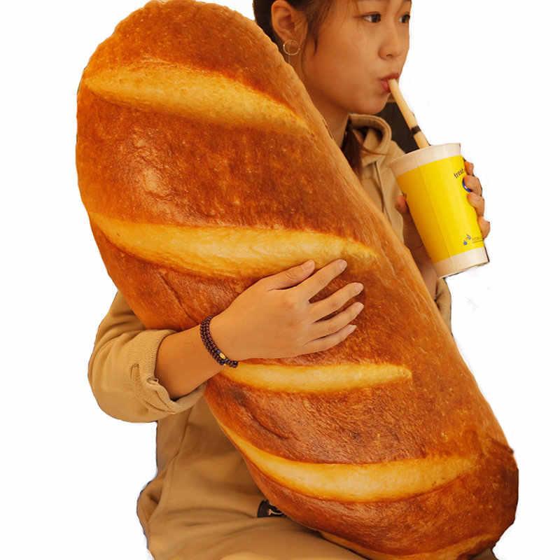 60/80/100cm 3D długi chleb poduszki imitacja jedzenia pluszak poduszka Home Decoration poduszka oparcia urodziny prezenty dla dzieci
