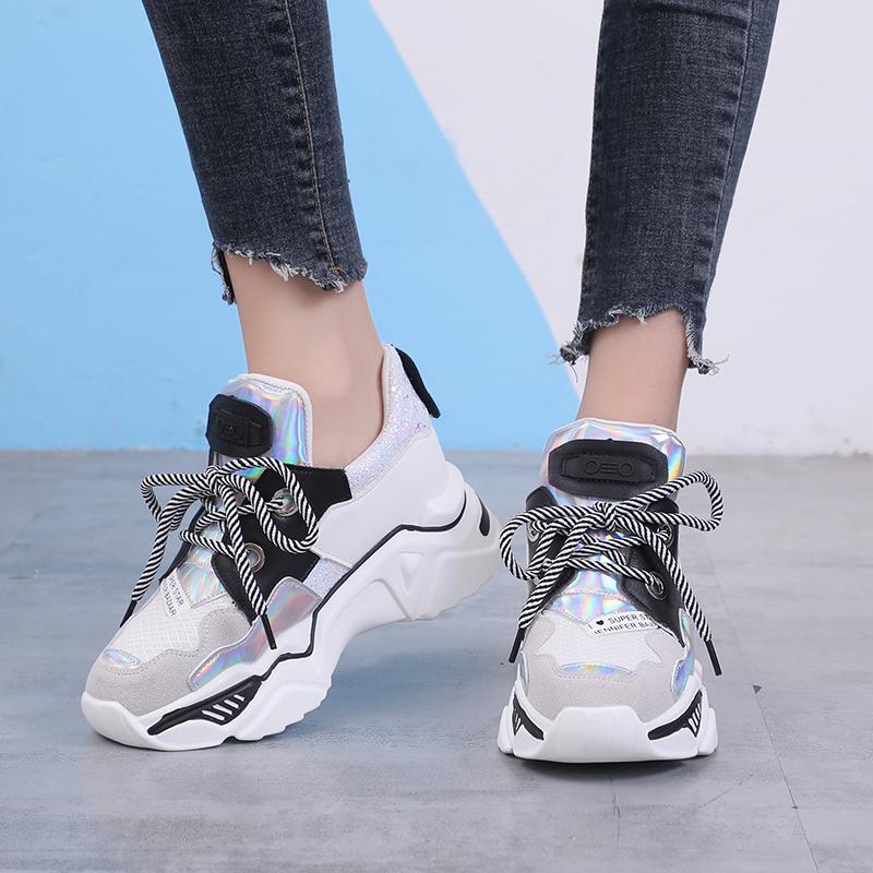 Mesh Style Transformer Sneakers 8